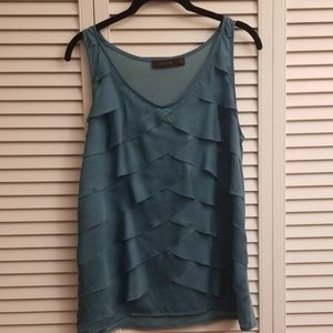 Sleeveless Teal The Limited Top